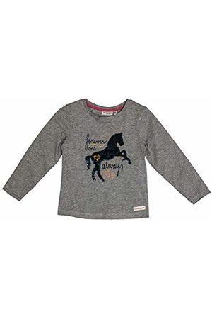 Salt & Pepper Salt and Pepper Girls' Horses Forever Wendepailletten Longsleeve T - Shirt, Melange 218