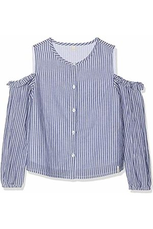 Esprit Kids Girl's Rp1203507 Woven Blouse Long Sleeves Top, (Marine 446)