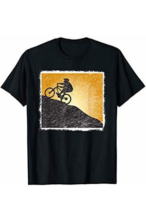 Motivate the Day Gifts Women T-shirts - Weathered Vintage Retro Mountain Biking Workout Gear Gift T-Shirt
