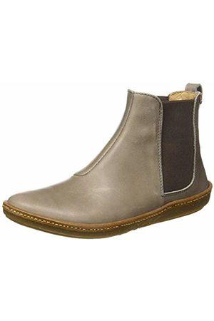 El Naturalista Women's N5310 Iris Plume/Coral Ankle Boots