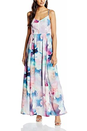 Yumi Women Maxi Dresses - Women's's Cloud Print Maxi Dress Multicoloured Size 14