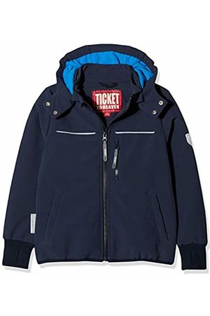 Ticket to Heaven Boy's Jacke Softshell Alex 1/1 Arm M. Abnehmbarer Kapuze Jacket, Total Eclipse| 3000