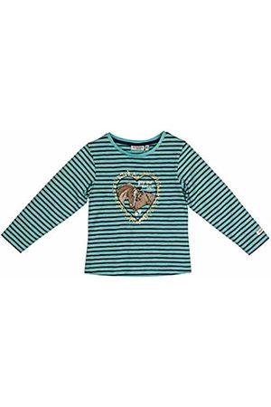 Salt & Pepper Salt and Pepper Girls' Horses The Best Pferdeköpfe Pailletten Longsleeve T-Shirt, (Lotus Melange 643)