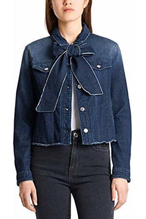 Marc Cain Women Denim Jackets - Women's Jeansjacken Denim Jacket, Indigo 355