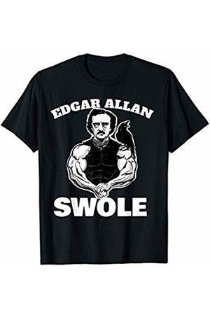 Miftees Edgar Allan Swole funny Edgar Allan Poe weightlifting T-Shirt