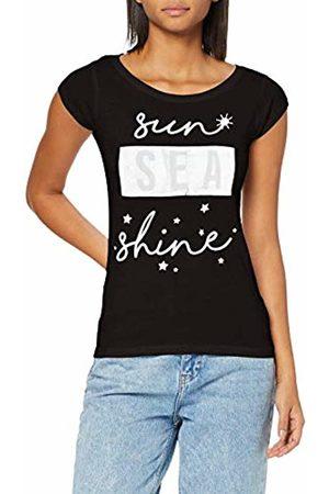 INSIDE Women's 7SCN65 T - Shirt, (Negro 1)