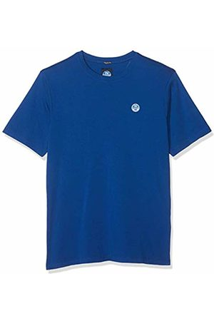 North Sails Men's T-Shirt S/s W/Logo Kniited Tank Top, (Ocean 790.0)