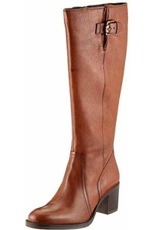 Clarks Women's Mascarpone Ela Ankle Boots, Tan Leather