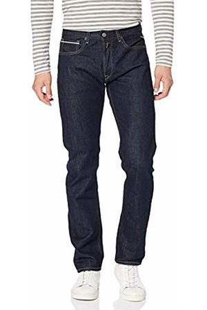 Replay Men's Grover Tapered Fit Jeans, (Dark 7)