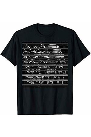 Star Wars X-Wing Tie Fighter Epic Battle Graphic T-Shirt