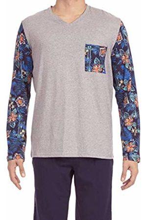 Hom Men's Hibis Long Pyjama Sets