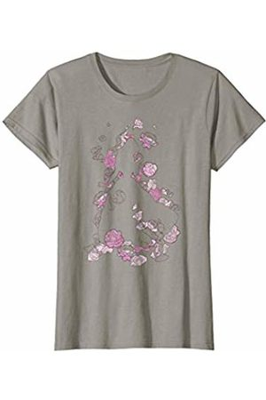 Disney Womens Beauty And The Beast Belle Silhouette Graphic T-Shirt