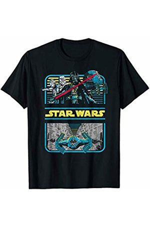 STAR WARS Darth Vader Retro New Hope Trench Graphic T-Shirt