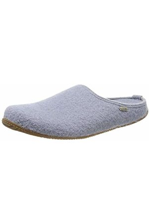 Living Kitzbühel Unisex Adults' Pantoffel Unifarben mit Fußbett Open Back Slippers, (Pearl 0512)