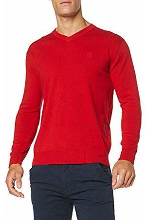 JP 1880 Men Jumpers & Sweaters - Men's Pullover V-Ausschnitt 10 Gg-Große Größen Jumper