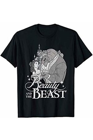 Disney Beauty & The Beast Vintage Logo Dance Graphic T-Shirt