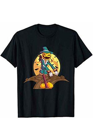Costune Halloween Costumes Shirt Men Women Kids Flossing Pumpkin Scarecrow Scary Creepy Spooky Halloween T-Shirt