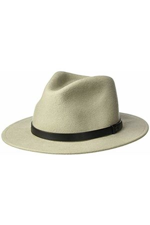 Brixton Men's Messer Medium Brim Felt Fedora HAT Moon