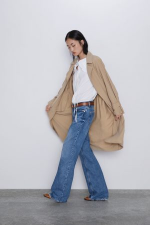 Zara Loose-fitting trench coat with pockets