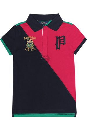 Ralph Lauren Embroidered cotton polo shirt