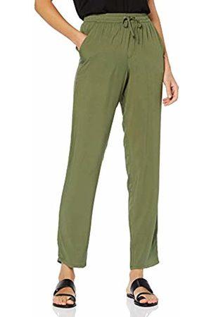 Tom Tailor Women's Haremspants Trouser, (Fresh Olive 12334)