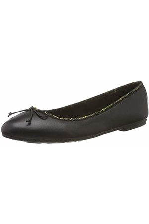 Tommy Hilfiger Women's Leather Ballerina Tommy Branding Ballet Flats, ( 990)