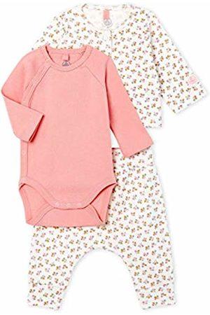 Petit Bateau Baby Girls' Ensemble 3 Pieces_5014301 Clothing Set