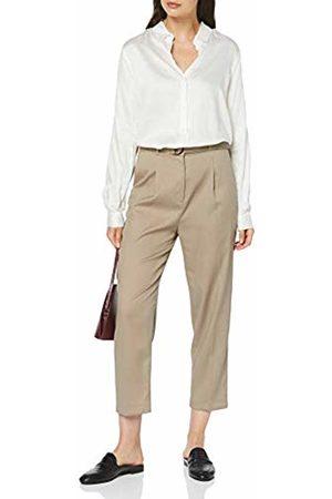 Seidensticker Women's Hemdbluse Langarm Modern fit Satin uni-100% Viskose Blouse, Alyssum 2