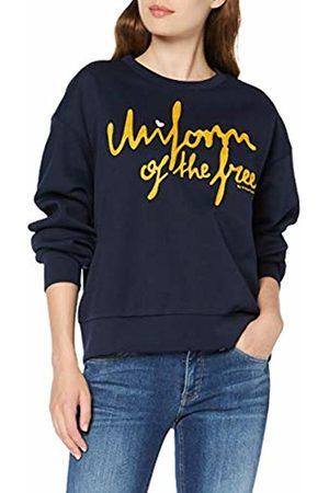 G-STAR RAW Womens Graphic 24 Loose Round Neck Sweatshirt