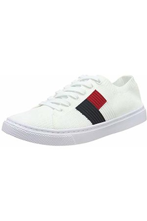 Tommy Hilfiger Women's Knitted Flag Lightweight Sneaker Low-Top ( 100)