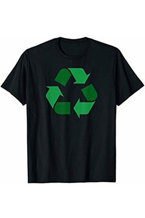 Miftees Women T-shirts - Green Recycle Symbol novelty Earth Day Recycling T-Shirt