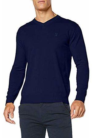 JP 1880 Men's Pullover V-Ausschnitt 10 Gg-Große Größen Jumper