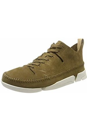 Clarks Men's Trigenic Flex Trainers, Olive Nubuck