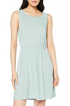 Tom Tailor Women's Bedrucktes Kleid Dress, (Smoke 10884)