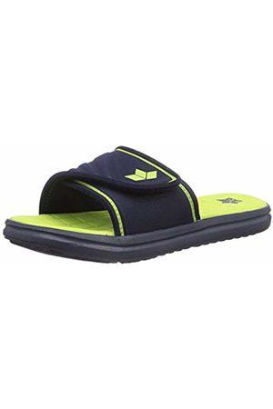 LICO Women Beach Bags - Unisex Adults' Barracuda V Beach & Pool Shoes, Marine/Lemon