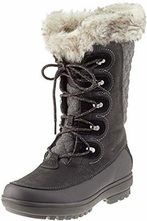 Helly Hansen Women's W Garibaldi Vl-W Cold Weather Snow Boots, Jet /Jet /Charcoal