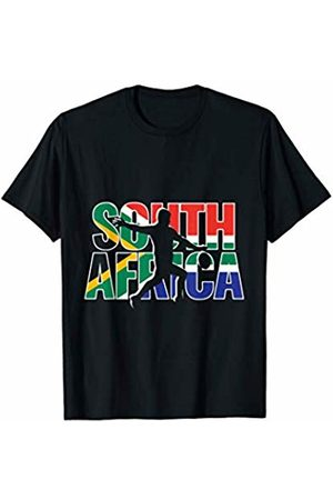 South Africa International Rugby Fans Apparel South Africa Rugby 2019 Fans Kit for Springboks Supporters T-Shirt