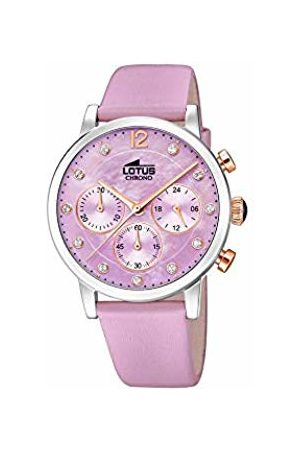 Lotus Womens Chronograph Quartz Watch with Leather Strap 18674/4