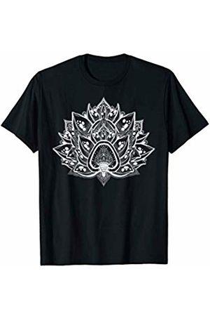Spiritual Lotus Flower Psychedelic Dream Spiritual Lotus Flower Mandala Yoga Meditation T-Shirt