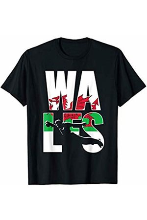 Wales International Rugby Fans Apparel Wales Rugby Union Jersey | 2019 Fans Kit Welsh Supporters T-Shirt