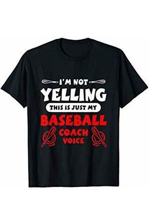 Cultured Tees Baseball Coach Funny Sports Ball Loud Dad Bat Comedic T-Shirt