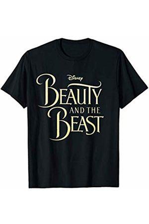 Disney Beauty & The Beast Golden Movie Logo Graphic T-Shirt