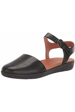 FitFlop Women's Mixed Buckle Cara Quarter Strap Closed Toe Sandals