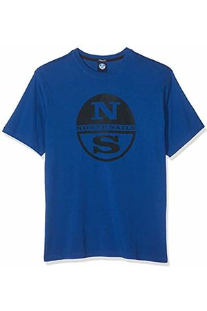 North Sails Men's T-Shirt W/Graphic Kniited Tank Top, (Ocean 790.0)