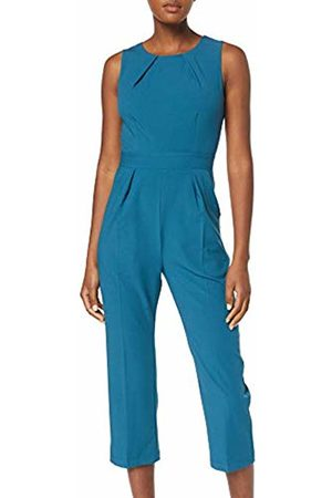 Closet Women's Sleeveless Jumpsuit, Teal
