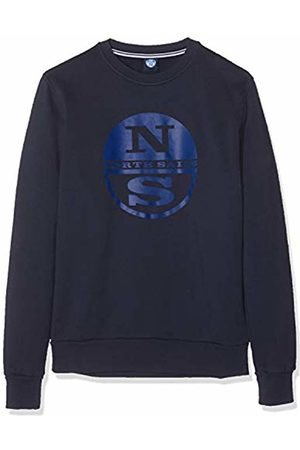 North Sails Men's Full Zip W/Graphic Kniited Tank Top, Navy 802.0