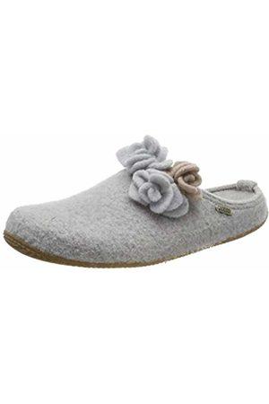 Living Kitzbühel Women's Pantoffel Rose mit Fußbett Open Back Slippers