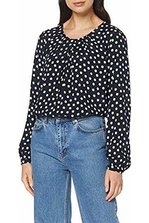 Seidensticker Women's Shirtbluse Langarm Modern fit Gepunktet-100% Viskose Blouse