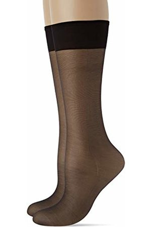Levante Women's Maxi 20 Gambaletto 2 Paia 100% Made in Italy Knee-High Socks