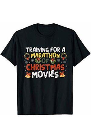 Bowes Christmas Training For A Marathon Of Christmas Movies T-Shirt